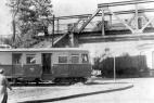 Plettenberger Kleinbahn an der Schwarzen Brücke