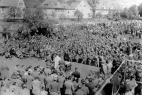"""Gefangenenlager/ prison camp """"Auf der Weide""""  (Photo: Joseph D. Karr)"""