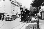 Kleinbahn in der Kaiserstrasse