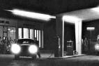 Tankstelle Abel im Jahre 1953