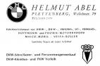Werbung Helmut Abel