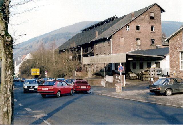 Die Ziegelei Loos am Grafweg um 1988